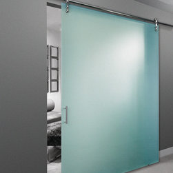 Frameless Barn Doors -