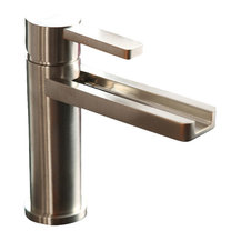 Maestrobath waterfall ultra modern bathroom faucet for Craftsman style kitchen faucets