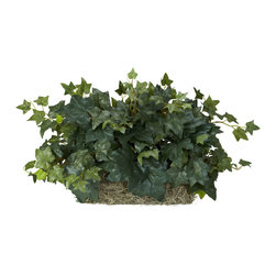 "Nearly Natural - Nearly Natural Ivy Set on Foam Sheet Silk Plant - Dull, dreary ledges got you down? Well, liven them up with this stunning Ivy Ledge Silk Plant. Perfectly sized to fit just about any ledge (shelf / mantle), this is an ideal piece for any room that ""needs a little green inches. Also perfect for bringing a fresh look to spaces where space is at a premium. Comes on a decorative foam sheet for easy placement."