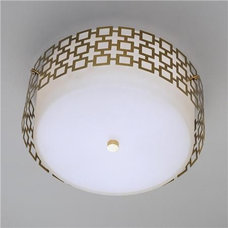 Contemporary Flush-mount Ceiling Lighting by Holly Mathis