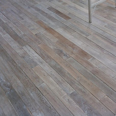 Eclectic Wood Flooring by Paris Ceramics