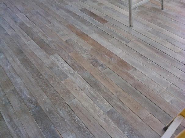Eclectic Hardwood Flooring by Paris Ceramics