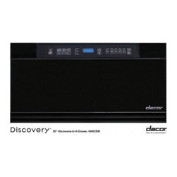 "Dacor - MMD24B Discovery 24"" Built-in Microwave In-A-Drawer with 1.0 cu. ft. Capacity  9 - The MMD24 24 microwave drawer comes with a total capacity of 10 cu ft The 950 Watt ensures you have enough power to heat almost everything"