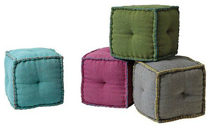 Footstools And Ottomans  Ottomans And Cubes
