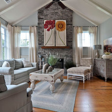 Traditional Living Room by Celebration Homes