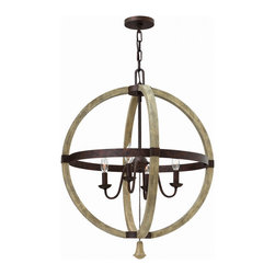 Fredrick Ramond - Fredrick Ramond FR40564IRR Middlefield 4 Light Chandeliers in Iron Rust - This 4 light Chandelier from the Middlefield collection by Fredrick Ramond will enhance your home with a perfect mix of form and function. The features include a Iron Rust finish applied by experts. This item qualifies for free shipping!