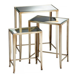 Joshua Marshal - Canyon Bronze Harrow Nesting Tables - Canyon Bronze Harrow Nesting Tables