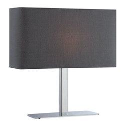 Lite Source - Lite Source LS-21797C/BLK Levon Table Lamp - Lite Source LS-21797C/BLK Levon Table Lamp