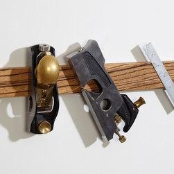 "M.O.C. Board Zebrawood - 12"" Zebrawood Magnetic knife strip"