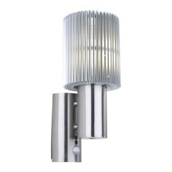 Eglo - Eglo Outdoor Lighting. Maronello Outdoor Aluminum Motion Sensing Wall Mount (1-P - Shop for Lighting & Fans at The Home Depot. The Maronello family of exterior fixtures brings a cutting edge contemporary design to your home or office exterior. Strong vertical lines in an aluminum finish provide a professional but inviting mood. Forward contemporary design for the industrial or residential atmosphere.
