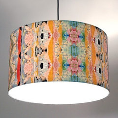eclectic pendant lighting by Supermarket