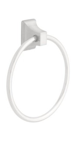 Liberty Hardware - Liberty Hardware 8216PC Ventura - Best Value 2.28 Inch Towel Holder - Inspired by the heart of classic Americana, the Ventura collection combines casual style and exceptional value. Refined without fuss, this bath accessory collection offers subtle design that always looks clean and relaxed. Width - 2.28 Inch, Height - 6.46 Inch, Projection - 1.65 Inch, Finish - Polished Chrome, Weight - 0.17 Lbs.