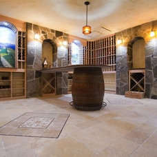 Traditional Floor Tiles by Art of Tile and Stone