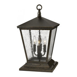 Hinkley - Hinkley Outdoor Trellis - 1437RB - This Four Light Exterior Piece is part of the Trellis Collection and has a Regency Bronze Finish. It is Outdoor Capable.