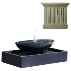 Modern Outdoor Fountains And Ponds by Potted
