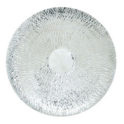 Benzara - Steel Wall Platter with Radial Shape and Hammered Texture - Lend a touch of royalty and its feel right to your house with this STAINLESS STEEL WALL PLATTER.Flaunting a metallic finish, this wall decor is versatile in use, and can complement all kinds of decor. This decorative piece is crafted with skilled workmanship, and includes intricate detailing, making it more appealing. Moreover, it can also be used as a gift item for anniversaries and token of love. Crafted of metal, this one promises to last you long while keeping your wall decor stylish and trendy. It is made from material to ensure that it is long lasting and durable for years to come. Bring this metal wall panel, and let your guests praise your choice for home decoration.