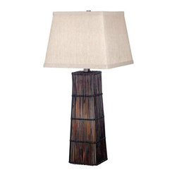 Asian floor lamps find tripod floor lamp and arc lamp for Captured glass floor lamp