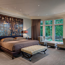 Transitional Bedroom by DeLeers Construction, Inc.