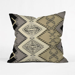 Southwestern Sing Along Throw Pillow Cover - If you can't steal away to New Mexico this summer, you'll get the next best thing: this Southwestern-inspired pillow cover.