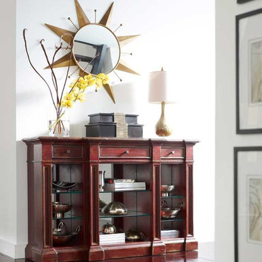 Habersham American Treasures Creekside Bookcase - One of many designs in Habersham's American Treasures ® Collection of copyrighted furniture designs.