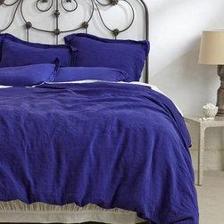Sophie Linen Duvet - You'll feel like a royal while sleeping beneath this stunning duvet.
