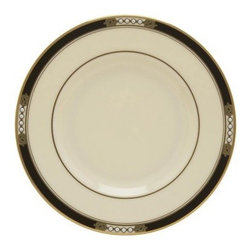 Lenox Hancock Butter Plate - Set of 2 - Elegant, bold, dramatic This handsome butter plate features an intricate Celtic design against a shimmering black border. Hand-enameled, pearl-white accents enhance its unique beauty.About Lenox CorporationLenox Corporation is an industry leader in premium tabletops, giftware, and collectibles. The company markets its products under the Lenox, Dansk, and Gorham brands, propelled by a shared commitment to quality and design that makes the brands among the best known and respected in the industry. Collectively, the three brands share 340 years of tabletop and giftware expertise.