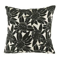 Canaan Company - 24x24 Razor Edge Accent Pillow - - Velvet Print  - 100% Poly  - Spot Clean Or Dry Clean Canaan Company - P-527-M