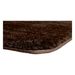 "Sands Rug - Plush Deluxe Washable Bath Rug (2' x 3'4"") - Relish the luxurious softness of the Plush Deluxe bathroom collection. Add a note of tasteful color to your most relaxing space, while enjoying the easy-to-clean features of nylon and the added safety of each rug's non-skid backing."