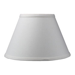 Home Concept - Threaded UNO Downbridge Lampshade - Light - Home Concept Signature Shades feature the finest premium linen fabric.