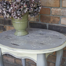 Eclectic Side Tables And Accent Tables by Hydrangea Home