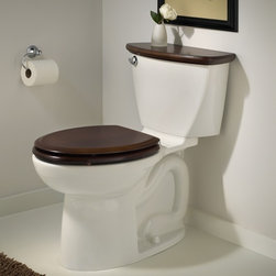 """American Standard Cadet 3 Right Height Elongated Toilet 12"""" Rough - Smarter design for higher performance and fewer clogs – all at a great price. The Cadet® 3 series toilets come in a variety of styles; one piece and two piece models, elongated and round front bowls, right height and compact versions and even water efficient models that flush on just 1.28 gallons per flush. The Cadet 3 is a hard working versatile series with superior performance."""
