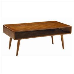 Boraam Halmstad Coffee Table in Rich Walnut - Features: