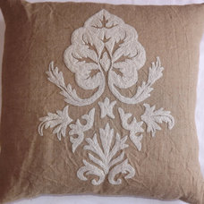 Traditional Shams by Crewel Fabric World by MDS