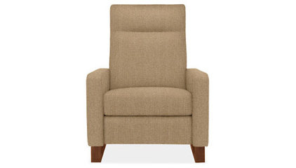 Dalton Recliner with Walnut Legs - Recliners & Lounge Chairs - Living - Room & B