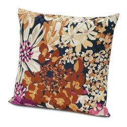 Missoni Home - Missoni Home | Lobelia Pillow 24x24 - Design by Rosita Missoni.