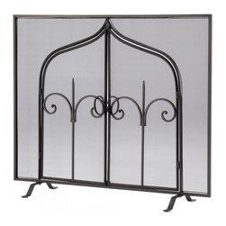 Joshua Marshal - Decorative Gate Of Thrones Frplc Scn - Decorative Gate Of Thrones Frplc Scn