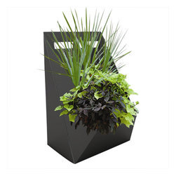 Patience Planter - The Patience Planter brings modern design to your backyard. This functional, stylish steel planter is perfect for the contemporary home and its durable construction ensures years of use.