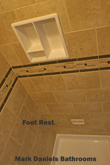 Traditional Showerheads And Body Sprays by Bathroom Tile Shower Shelves