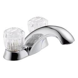 Delta Faucet CO - Lavatory Faucet 2-Handle Chrome - Features: