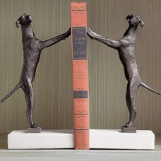 Eclectic Bookends by Hazelnut New Orleans