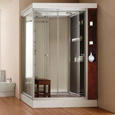 Modern Showers by Aquapeutics