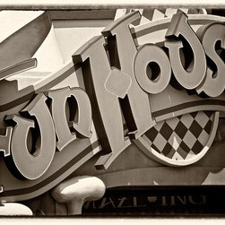 Murals Your Way - Fun House Wall Art - Photographed by Doug Nelson, Fun House wall mural from Murals Your Way will add a distinctive touch to any room