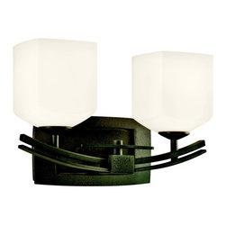 Kichler Lighting - Kichler Lighting 45262AVI Brinbourne Anvil Iron 2 Light Vanity - Kichler Lighting 45262AVI Brinbourne Anvil Iron 2 Light Vanity