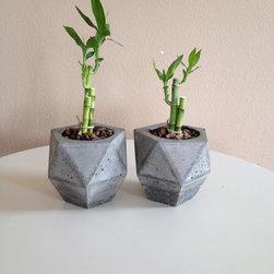 modern pots -