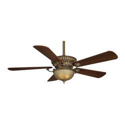 "Fanimation - Fanimation Ventana 52"" 5 Blade Ceiling Fan - Blades, Light Kit, and Remote Contr - Included Components:"