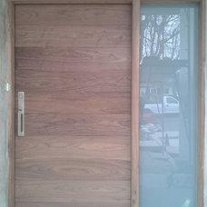 Modern Front Doors by Custom Mouldings Sash &Doors, Inc