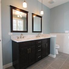 Traditional Bathroom by designerb