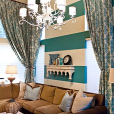 Beach Style Family Room by ReStyle Group
