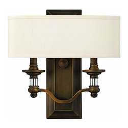 Hinkley Lighting 4900EZ 2 Light Sconce Sussex Collection -
