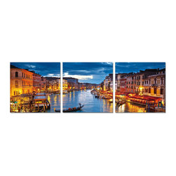Elementem Photography - Venice at Night Print - Mounting Instructions: